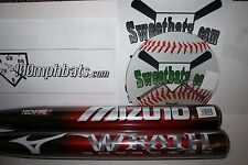 New Mizuno Wrath Extended 120 Softball Bat 34 27 NIW Non ASA Slowpitch Techfire