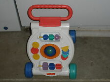Fisher-Price Activity Walker Push Baby Learn First Steps Developmental Toy