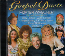 "PORTER WAGONER Brand New CD ""GOSPEL DUETS"" with Dolly, Willie etc. 14 TRACKS"