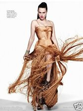 Brand New Versace Nude Fringe Gown Dress 42 - 6