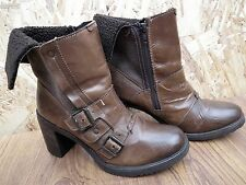 ALDO Leather Ankle Length Women's Boots UK Size 6 EUR 39