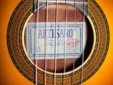 1985 Artesano #50 Solid Classical Guitar in Mint Condition w/ Brand New HardCase