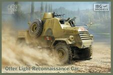 OTTER - WW II ALLIED ARMOURED RECCE CAR (CANADIAN & POLISH ARMY MKGS) 1/72 IBG