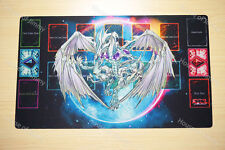 FREE TUBE Yugioh Playmat Custom Made Play Mat Stardust Dragon #002