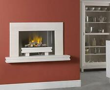 """THE PALERMO ""  SUPERB HOLE IN THE WALL GAS FIRE SUITE IN LIMESTONE AND GRANITE"