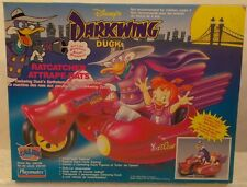 Disney Darkwing Duck Ratcatcher Motorcycle With Sidecar MIB Contents Sealed