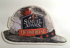 Samuel Adams Octoberfest Die-Cut Beer Coaster
