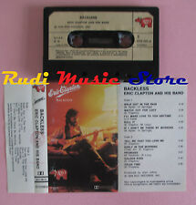 MC ERIC CLAPTON AND HIS BAND Backless 1978 italy RSO 813 581-4 cd lp dvd vhs