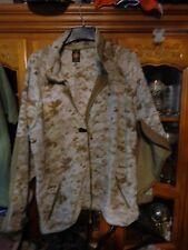 USMC DESERT DIGITAL MARPAT POLARTEC FLEECE- LARGE REGULAR OUTSTANDING CONDITION