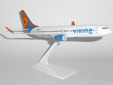 Boeing 737-800 Viking Airlines Plastic Collectors Display Model Scaled at 1/200