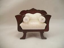 Chair - Empire - dollhouse miniature wooden furniture T3394 1/12 scale