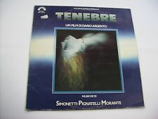 O.S.T. - TENEBRE - LP VINYL ITALY 1982 - GOBLIN - FIRST PRESS