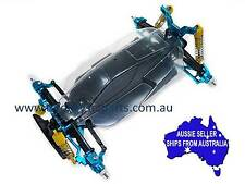 Yeah Racing blue alloy ESSENTIAL Conv kit for Tamiya TT02B Buggy TATT-S01BU 1:10
