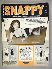 Snappy Magazine - May, 1960 ~~ four pages of Bettie Page