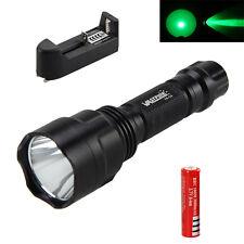 Grün XML Q5 LED 5000Lm Torch Taschenlampe Lampen 18650 Jagd Licht Outdoor