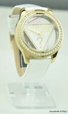 New Stylish 100% Original Ladies Watch GUESS White Leather U10045L1