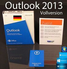 Microsoft Office Outlook 2013 version complète BOX 32/64-bit FR OVP NOUVEAU
