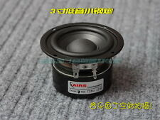 "3"" inch 25W Hi-Fi Subwoofer Speaker Audio Bass Loudspeaker 4ohm / 8ohm - Circle"