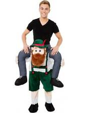 Carry Me Bavarian Beer Guy Ride On Oktoberfest Mascot V2 New Fancy Dress Costume