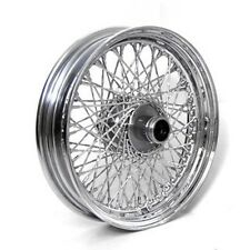 "80 SPOKE TWISTED 16"" FRONT 16 X 3 WHEEL HARLEY SOFTAIL FLST FLSTC HERITAGE"