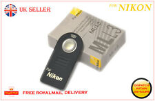 NIKON ML-L3 mll3 INFRAROSSI Wireless Otturatore Remoto Controllo fr D5100 D5300