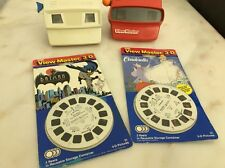 View-Master Disney Theater Projector 2 Gaf View Masters 8 Reel Disney Stories
