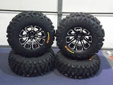 "HONDA RANCHER SRA 25"" BOUNTY HUNTER 8 PLY HD RADIAL ATV TIRE & WHEEL KIT SS3"