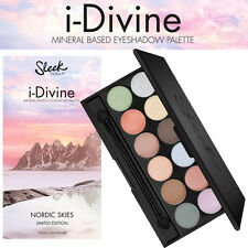Sleek Make up - I Divine 12 Colours Eyeshadow - Nordic Skies