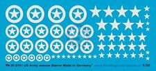 Peddinghaus 1/35 US Army White Stars (Different Sizes, with & w/out Circle) 781