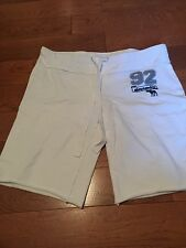 Girls Abercrombie jogging shorts size XL