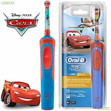 Oral-B Stages Power Vitality Disney CARS Electric Rechargeable Kids Toothbrush