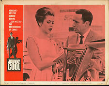 JOHNNY COOL original 1963 lobby card poster ELIZABETH MONTGOMERY/JOEY BISHOP
