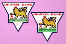 England Premier League Champion 98/99 Gold Velvet Badge Manchester United Jersey