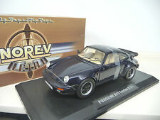 Porsche 911 Turbo 3.3  930 1978-1989 Blue Norev 1:18  MIB  FREE SHIPPING