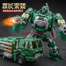 Transformers oversize 23cm tall metal part weijiang smok Hound Figure