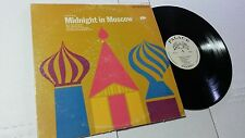 MIDNIGHT IN MOSCOW - Jazz All-Stars Festival 1960's Palace Records (LP)