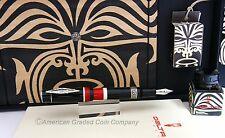 DELTA LIMITED EDITION .925 MAORI #0461/1642 18K M Nib Fountain: New In Box!!
