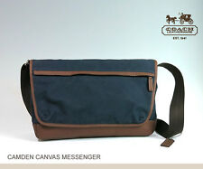 Brand NewCoach Camden Canvas Messenger ~ F70829 - GM/Navy
