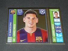 426 MESSI BLAUGRANA BARCELONA PANINI FOOTBALL UEFA CHAMPIONS LEAGUE 2014-2015
