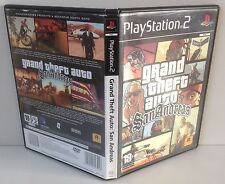 PS2 Grand Theft Auto : San Andreas Playstation 2 PAL 2 GTA : San Andreas