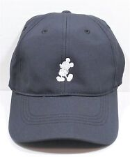 Disney Parks Exclusive Mickey Mouse Black Nike Dri Fit Baseball Golf Cap Hat NEW