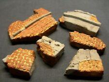 Échelle 1/35 ~ ruiné fragments de mur