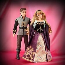 Disney Aurora and Prince Phillip Sleeping Beauty Fairytale Designer Doll Set LE