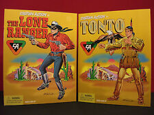 Lone Ranger Tonto 1998 Playing Mantis Mint Unopened Action Figures