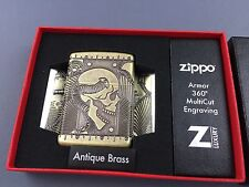ZIPPO Antique 360° Multicut Steampunk Skull Feuerzeug Kollektion 2017 - 60002848