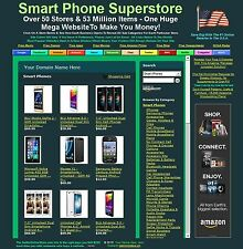 SMART PHONE BUSINESS FOR SALE - PLUS 50 OTHER WEBSTORES - OVER 53 MILLION ITEMS!
