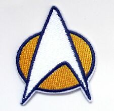 Star Trek Iron On Patch- TV Sci-Fi Embroidered Appliques Crafts Sew