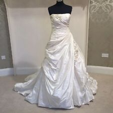 Enzoani Erica wedding dress / bridal gown in ivory, size 12