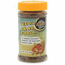 Zoo Med Hermit Crab Food 2.4oz Free Shipping