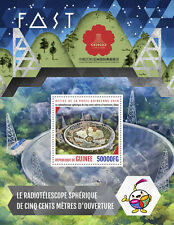 Guinea 2016 MNH FAST Radio Telescopes China 2016 1v S/S Science Stamps